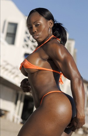Ebony Female Bodybuilder Porn
